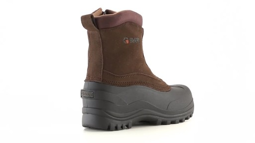 Guide Gear Men's Insulated Side Zip Winter Boots 600 Gram 360 View - image 7 from the video
