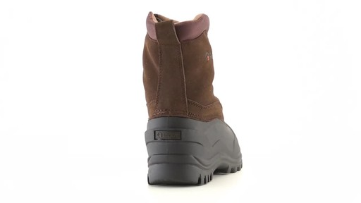 Guide Gear Men's Insulated Side Zip Winter Boots 600 Gram 360 View - image 8 from the video