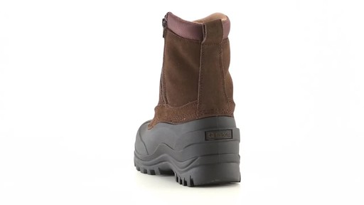 Guide Gear Men's Insulated Side Zip Winter Boots 600 Gram 360 View - image 9 from the video