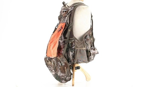 Tenzing TZ TV14 Turkey Vest Realtree Xtra - image 9 from the video
