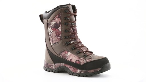 Guide Gear Men's Arctic Hunter II Insulated Waterproof  Boots 2000 Grams 360 View - image 10 from the video