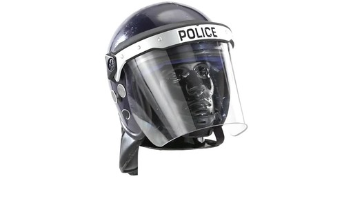 BRI POLICE RIOT HELMET 360 View - image 3 from the video