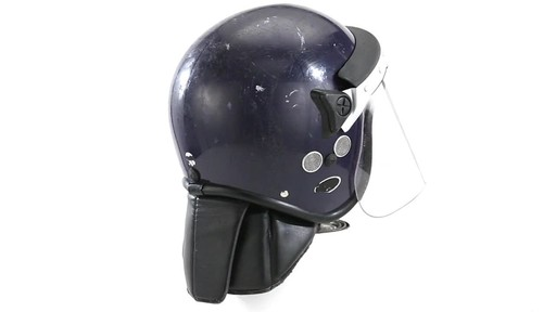 BRI POLICE RIOT HELMET 360 View - image 6 from the video