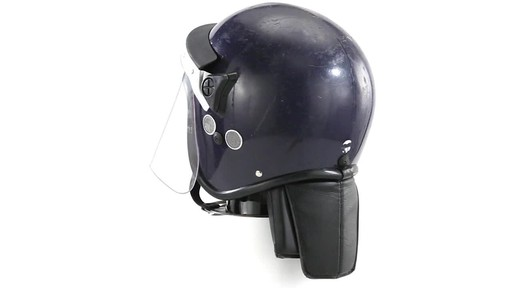 BRI POLICE RIOT HELMET 360 View - image 9 from the video