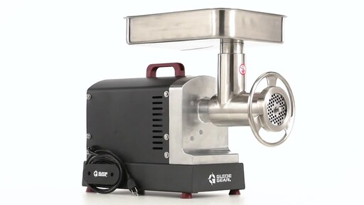 Guide Gear Series #32 1.5hp Electric Commercial-Grade Meat Grinder 360 View - image 3 from the video