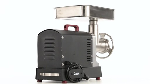 Guide Gear Series #32 1.5hp Electric Commercial-Grade Meat Grinder 360 View - image 6 from the video