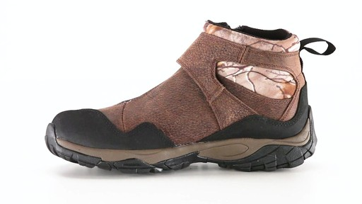 Guide Gear Men's Shadow Ridge Waterproof Zip-Up Hunting Boots 360 View - image 1 from the video