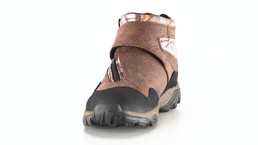 Guide Gear Men's Shadow Ridge Waterproof Zip-Up Hunting Boots 360 View - image 10 from the video