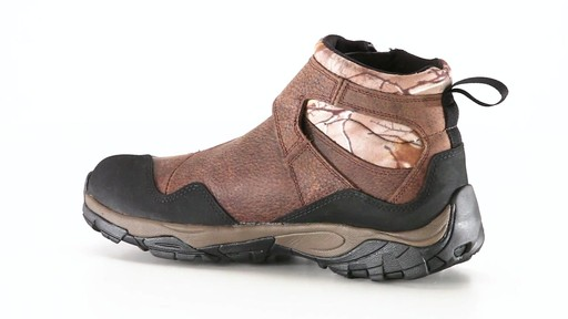 Guide Gear Men's Shadow Ridge Waterproof Zip-Up Hunting Boots 360 View - image 2 from the video