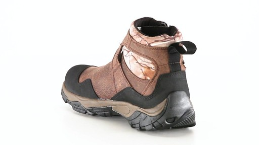 Guide Gear Men's Shadow Ridge Waterproof Zip-Up Hunting Boots 360 View - image 3 from the video