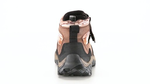 Guide Gear Men's Shadow Ridge Waterproof Zip-Up Hunting Boots 360 View - image 4 from the video