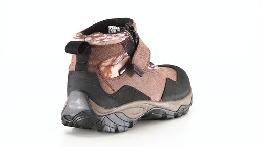 Guide Gear Men's Shadow Ridge Waterproof Zip-Up Hunting Boots 360 View - image 5 from the video