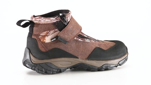 Guide Gear Men's Shadow Ridge Waterproof Zip-Up Hunting Boots 360 View - image 6 from the video
