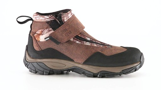 Guide Gear Men's Shadow Ridge Waterproof Zip-Up Hunting Boots 360 View - image 7 from the video