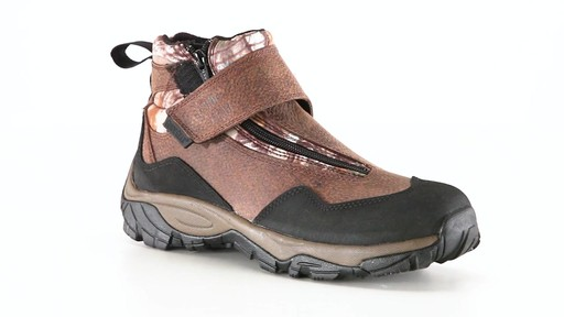 Guide Gear Men's Shadow Ridge Waterproof Zip-Up Hunting Boots 360 View - image 8 from the video