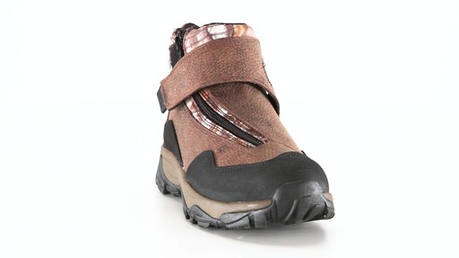 Guide Gear Men's Shadow Ridge Waterproof Zip-Up Hunting Boots 360 View - image 9 from the video