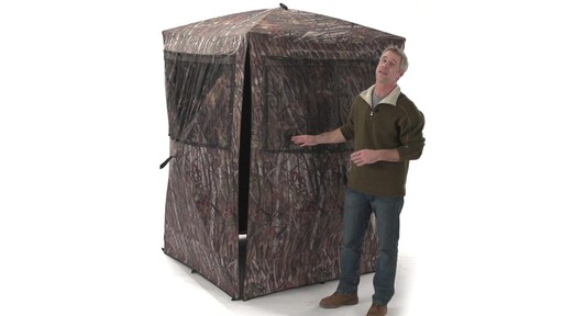 Guide Gear Big Boy Ground Blind - image 1 from the video