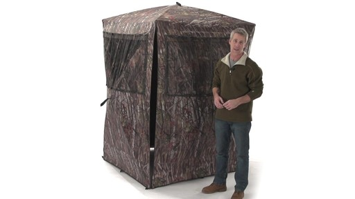 Guide Gear Big Boy Ground Blind - image 10 from the video