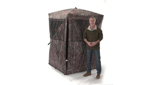 Guide Gear Big Boy Ground Blind - image 4 from the video
