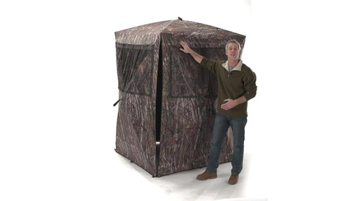 Guide Gear Big Boy Ground Blind - image 5 from the video