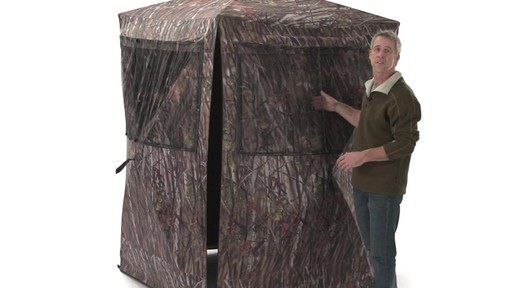 Guide Gear Big Boy Ground Blind - image 6 from the video