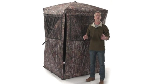 Guide Gear Big Boy Ground Blind - image 8 from the video