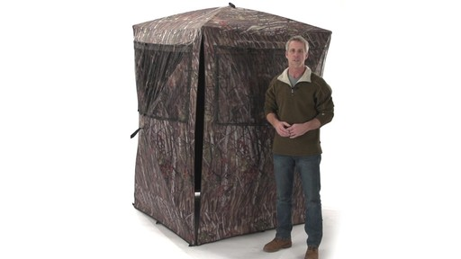 Guide Gear Big Boy Ground Blind - image 9 from the video