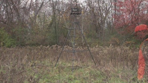 Sniper Sentinel 12' Tripod Deer Stand - image 1 from the video