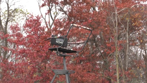 Sniper Sentinel 12' Tripod Deer Stand - image 10 from the video