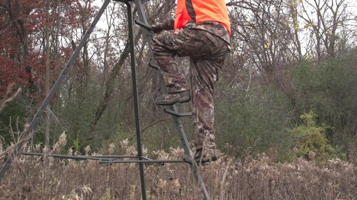 Sniper Sentinel 12' Tripod Deer Stand - image 2 from the video