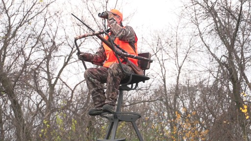 Sniper Sentinel 12' Tripod Deer Stand - image 3 from the video