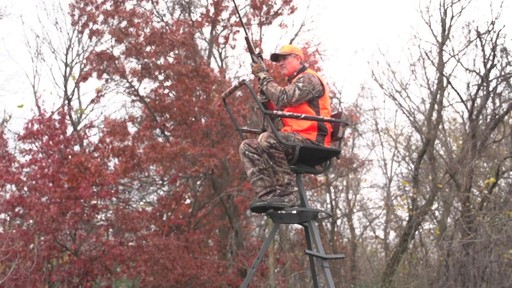 Sniper Sentinel 12' Tripod Deer Stand - image 6 from the video