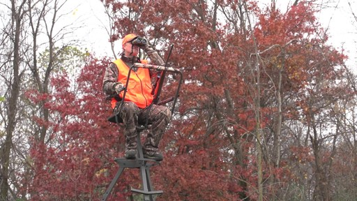 Sniper Sentinel 12' Tripod Deer Stand - image 8 from the video