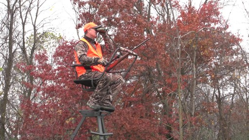 Sniper Sentinel 12' Tripod Deer Stand - image 9 from the video