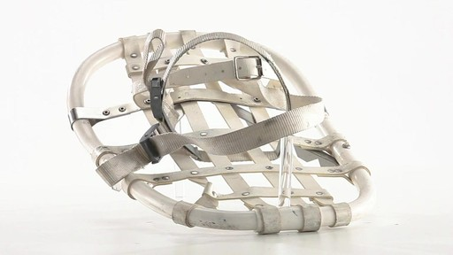 British Military Surplus Snow Shoes Used 360 View - image 3 from the video