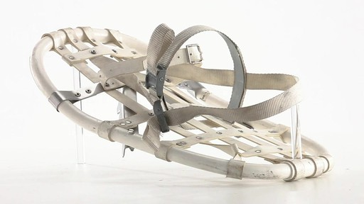 British Military Surplus Snow Shoes Used 360 View - image 4 from the video