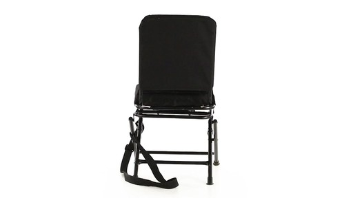 Guide Gear Swivel Hunting Chair Black 360 View - image 4 from the video
