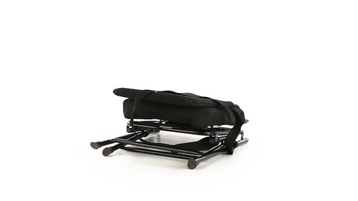 Guide Gear Swivel Hunting Chair Black 360 View - image 6 from the video
