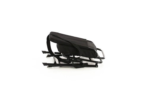 Guide Gear Swivel Hunting Chair Black 360 View - image 7 from the video