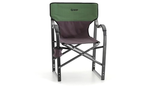 Guide Gear Oversized Aluminum Camp Chair Green 360 View - image 2 from the video