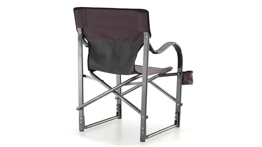 Guide Gear Oversized Aluminum Camp Chair Green 360 View - image 5 from the video
