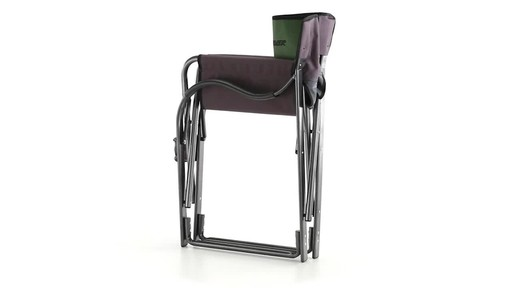 Guide Gear Oversized Aluminum Camp Chair Green 360 View - image 7 from the video