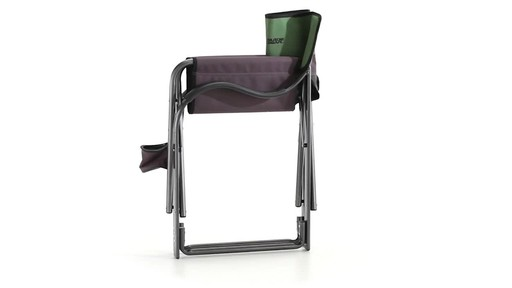 Guide Gear Oversized Aluminum Camp Chair Green 360 View - image 8 from the video