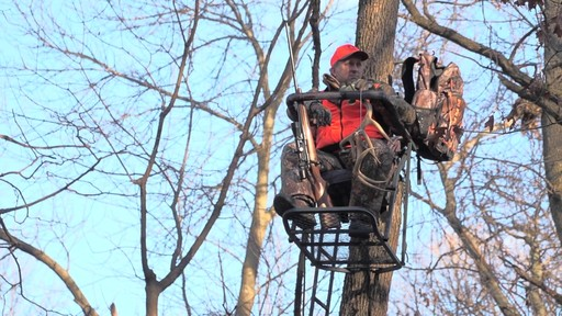 Guide Gear Extreme Comfort Hang On Tree Stand - image 1 from the video