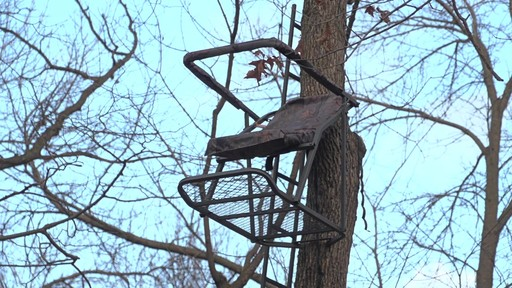 Guide Gear Extreme Comfort Hang On Tree Stand - image 10 from the video