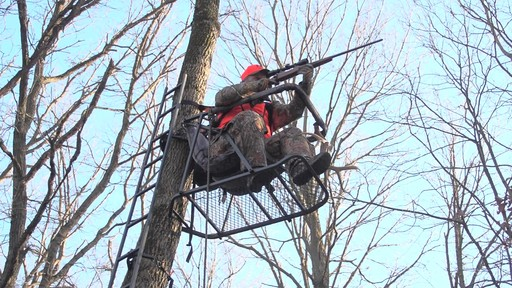 Guide Gear Extreme Comfort Hang On Tree Stand - image 3 from the video