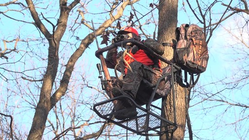 Guide Gear Extreme Comfort Hang On Tree Stand - image 5 from the video