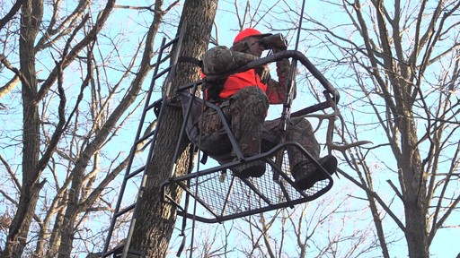 Guide Gear Extreme Comfort Hang On Tree Stand - image 6 from the video