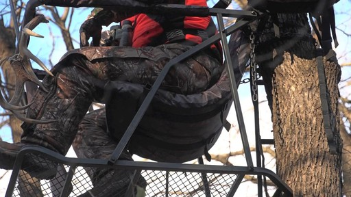 Guide Gear Extreme Comfort Hang On Tree Stand - image 7 from the video