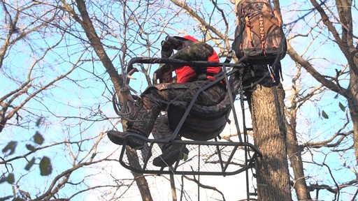 Guide Gear Extreme Comfort Hang On Tree Stand - image 8 from the video